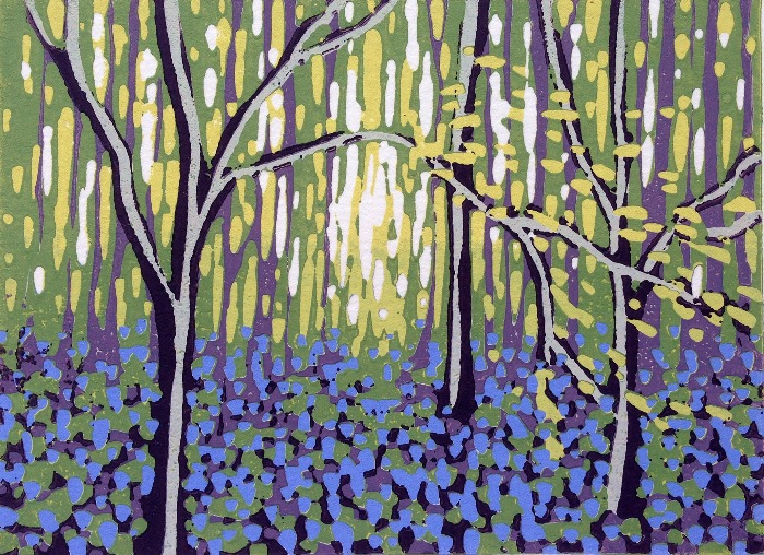 Bluebell Vision by Alexandra Buckle