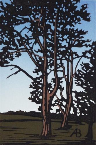 Waddesdon Trees by Alexandra Buckle