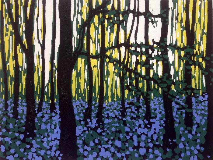 Bluebell Contemplation by Alexandra Buckle