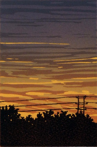 October Sunset by Alexandra Buckle