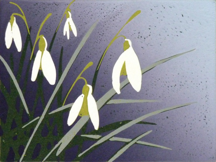Snowdrops by Alexandra Buckle
