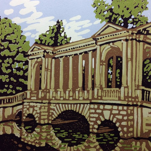 Palladian Bridge by Alexandra Buckle