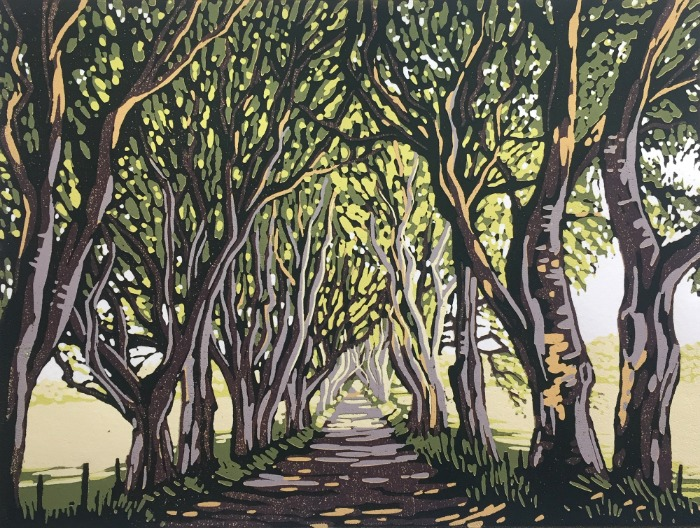 The Dark Hedges by Alexandra Buckle