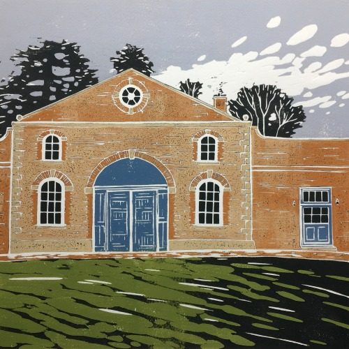 Claydon Courtyard by Alexandra Buckle