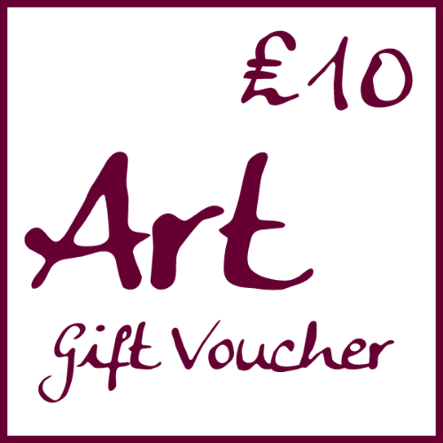�10 Art Gift Voucher by Alexandra Buckle